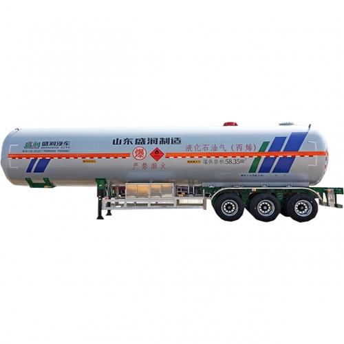 液化氣體運輸半掛車丙烯(58.35)
